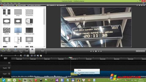 截圖 Camtasia Studio Windows XP