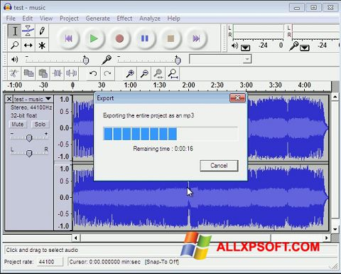 截圖 Lame MP3 Encoder Windows XP